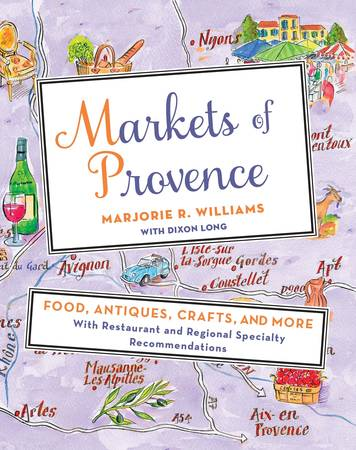 PhillyBite10Doylestown, PA - Listeners will be transported to the South of France when The Alliance Française of Doylestown welcomes Marjorie R. Williams for an illustrated presentation of her newest book Markets of Provence. The lecture will be followed by a book signing. The event, which is open to the public, takes place on Thursday, October 6 from 7pm - 9pm at St. Paul's Lutheran Church. The event is underwritten by Goût et Voyage, LLC and Simply Fresh by McCaffreys.