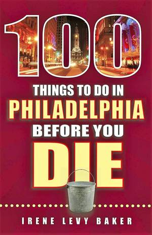 After 25 years of research, I started to write my love letter - a book called 100 Things To Do In Philadelphia Before You Die. The most difficult part was limiting it to only 100 things. So I cheated. I grouped things together so I could fit in more. I added tips that mentioned even more places. And, I wrote not 100 but 105. Inevitably my publisher made me cut 5 and it was like choosing between my children.