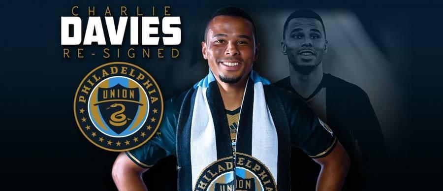 Philadelphia Union Re-sign Forward Charlie Davies