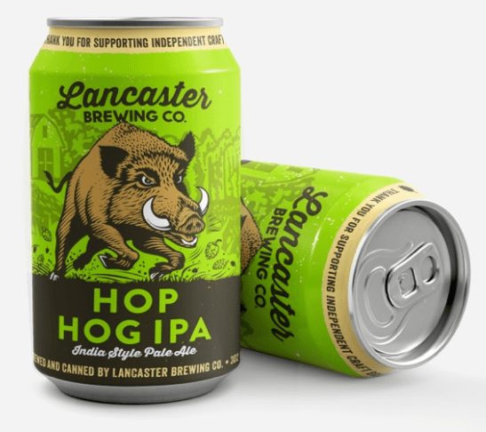 Lancaster Brewing New Cans