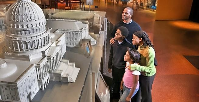 At the National Constitution Center, visitors of all ages discover the impact of the U.S. Constitution on their lives through multimedia exhibitions, sculpture, film, artifacts and interactive displays.