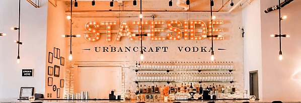 Stateside Urbancraft Vodka's Federal Distilling Room