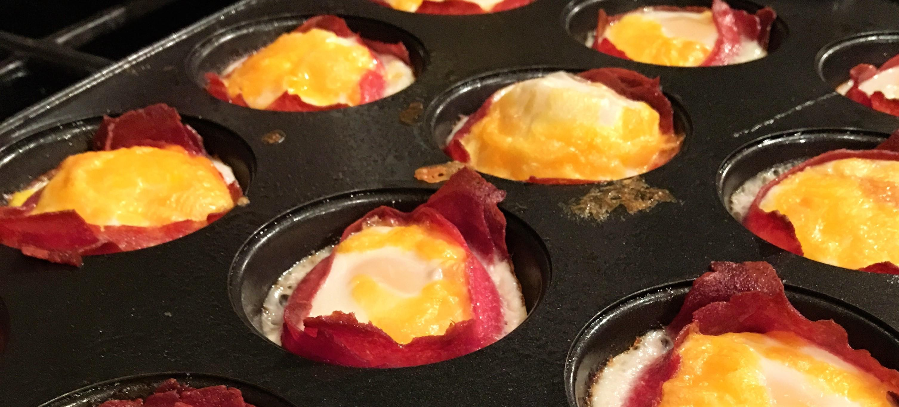 Recipes 101: Turkey bacon Egg Cups