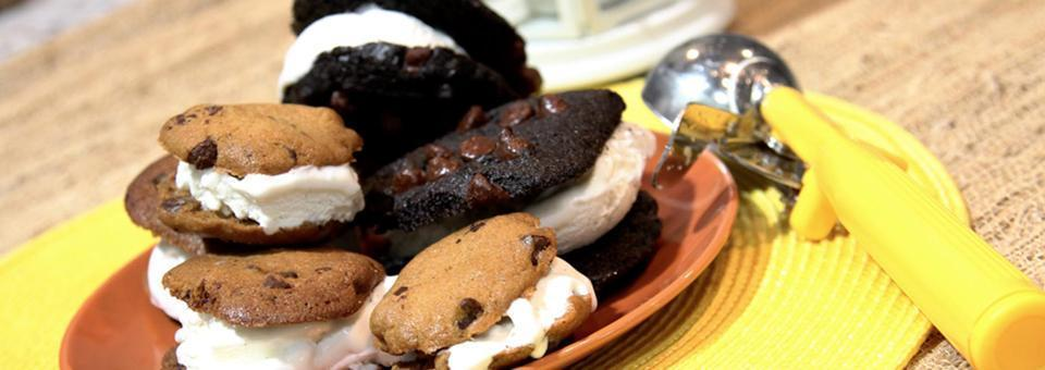 Easy to Make Homemade Ice Cream Sandwiches