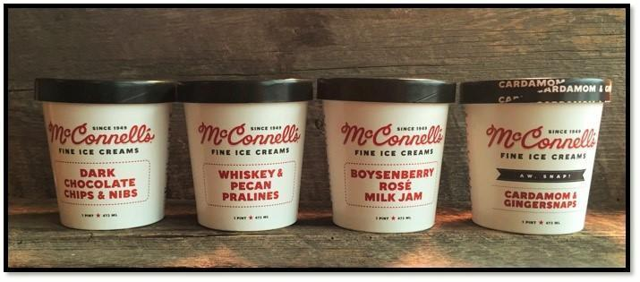 McConnell's Ice Cream Now Available in Philadelphia Region