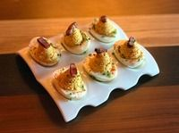 Urban Farmer Deviled Eggs