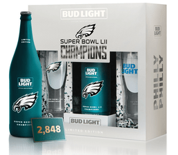 Bud Light Eagles pack