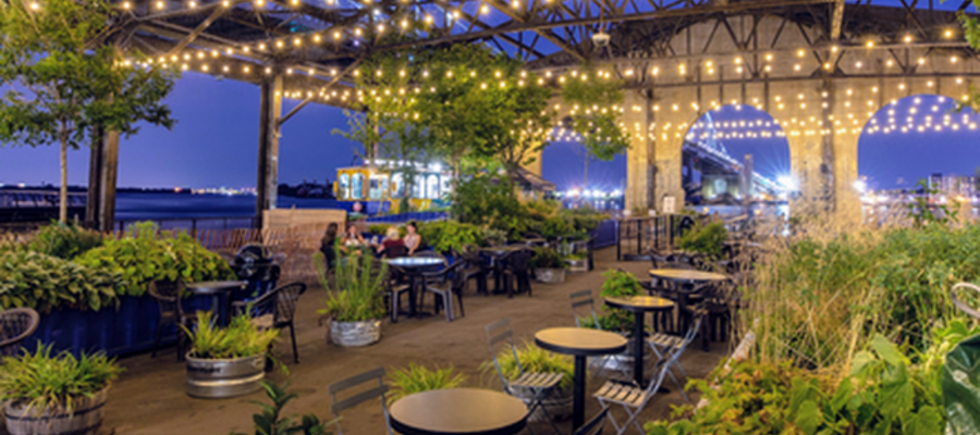 The Garden at Cherry Street Pier