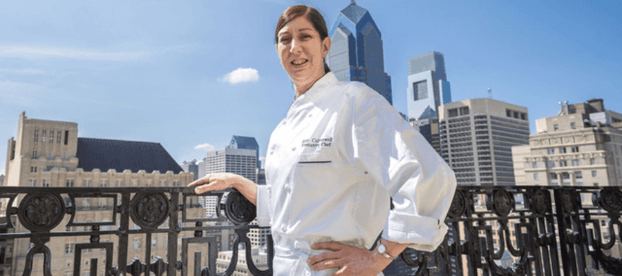 The Bellevue Hotel's New Executive Chef Amy Culverwell