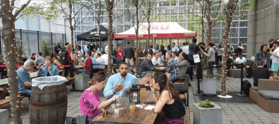 Uptown Beer Garden Grand Opening Review