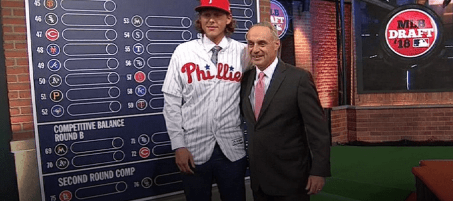 Phillies Pick Up Alec Bohm in First Round of 2018 Draft