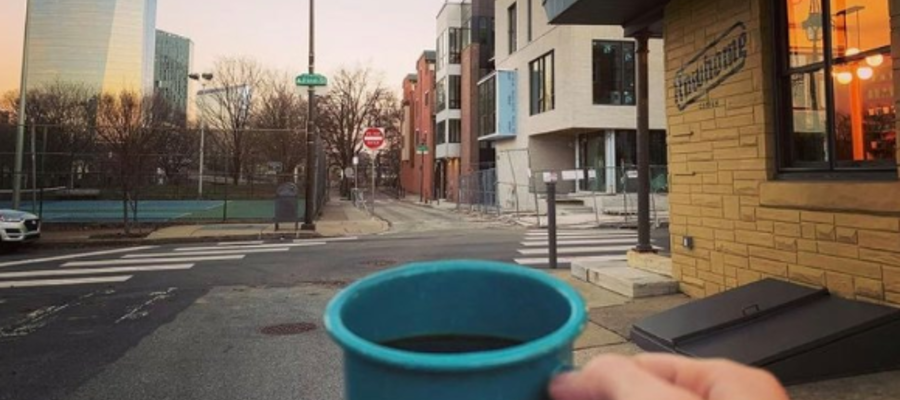 Rowhome Coffee Brings Specialty Coffee and Unique Eats to Filter Square