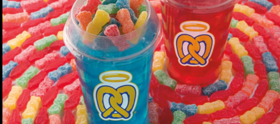 Auntie Anne's New Candy Lemonade Mixers