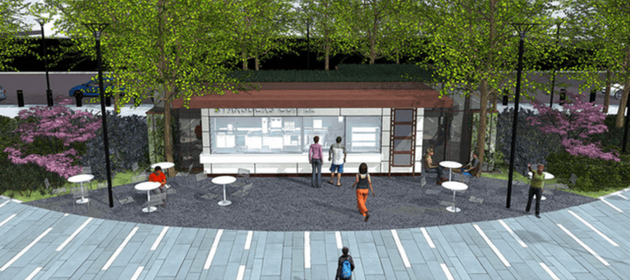 New Starbucks Coffee Kiosk Coming to Dilworth Park