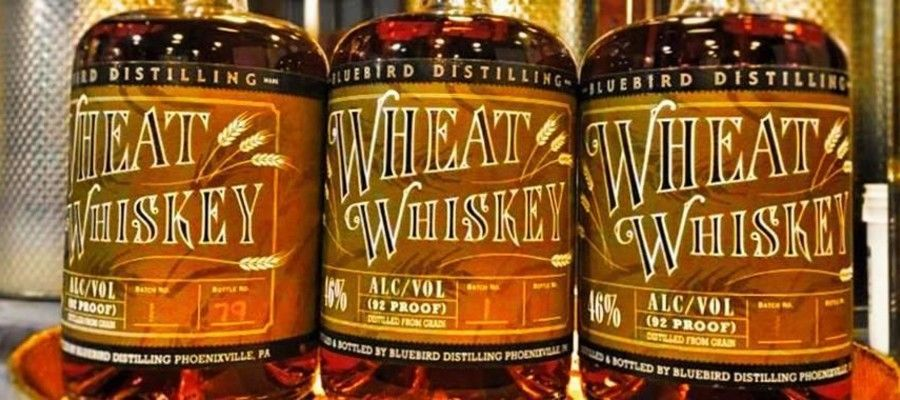 """The unique combination of wheat and new American oak creates notes of butterscotch and marzipan,"" says Jared Adkins, Founder of Bluebird Distilling. ""This soft, smooth whiskey is the perfect compliment to our existing line of Bluebird whiskeys, including our Four Grain Bourbon and Rye Whiskey."""