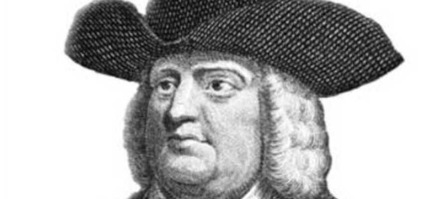 William Penn (October 14, 1644–July 30, 1718)