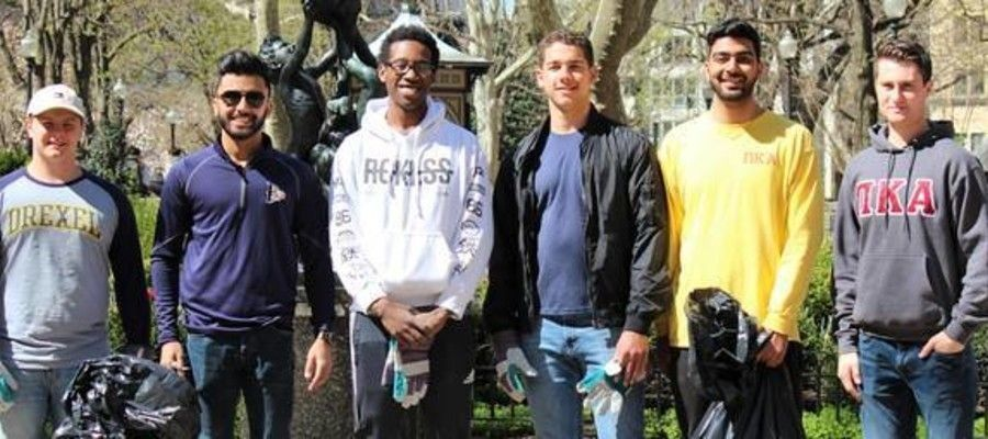Friends of Rittenhouse Square Earth Day Clean-up