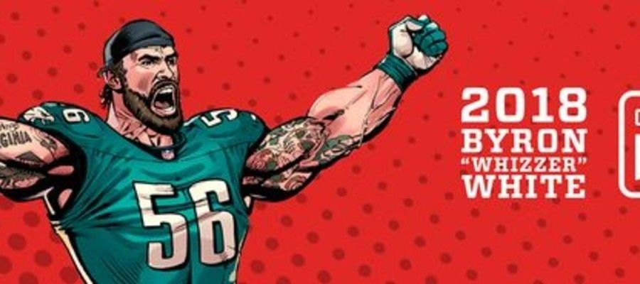 "Chris Long Named 2018 Byron ""Whizzer"" White Community MVP Winner"