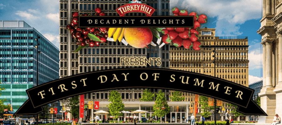 First Day of Summer -  FREE Ice Cream at Dilworth Park