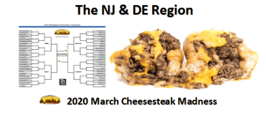 The new Jersey and Delaware Region Cheesesteak Contenders