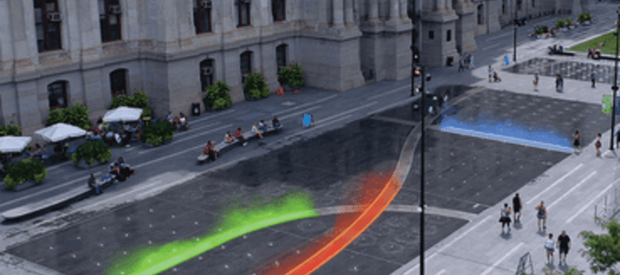 Pulse Coming to Life at Dilworth Park