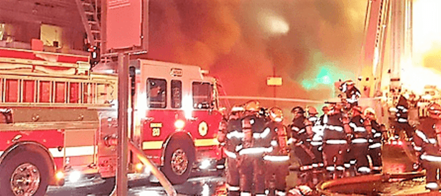 Update on Old City Fire on Chestnut Street