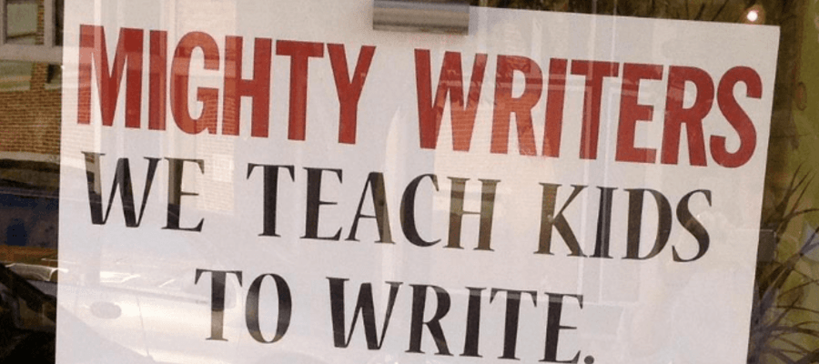 The Mighty Writers Come to Camden NJ