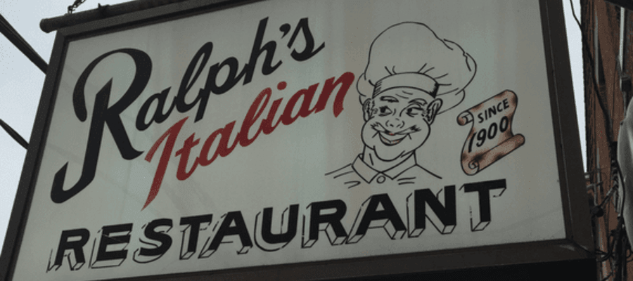Ralph's Italian of South Philly