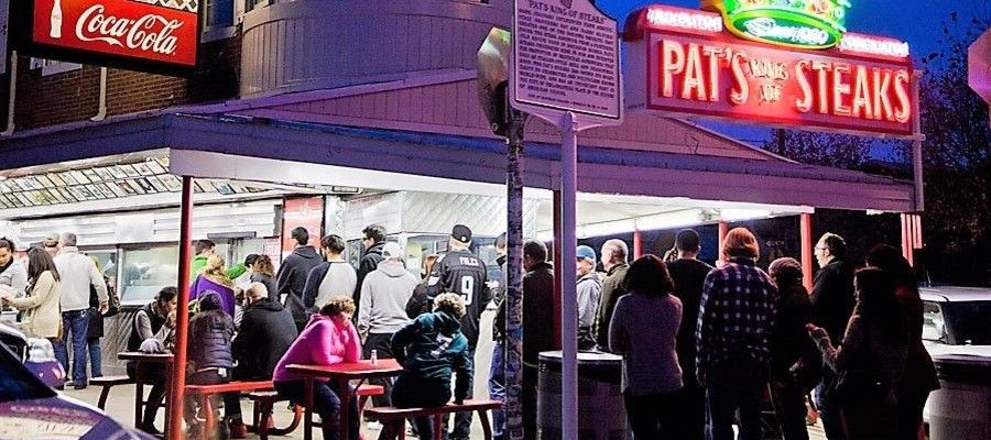 Pat's King of Steaks - Original Home of The Cheesesteak