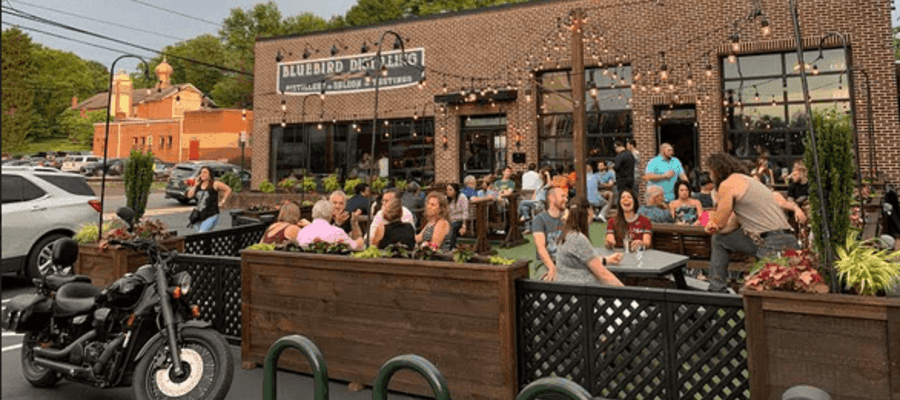 Bluebird Distilling Fourth Anniversary and Bluebird Bonanza