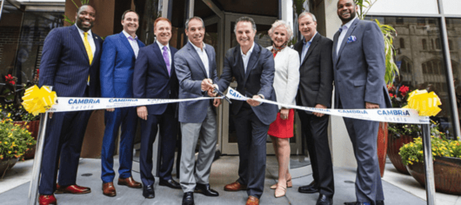 Cambria Hotels Opens Philadelphia's Newest Hotel