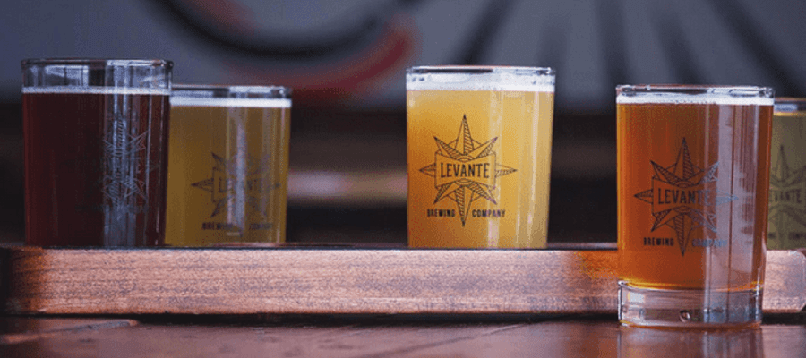 Brewer's Dinner with Levante and At The Table BYOB