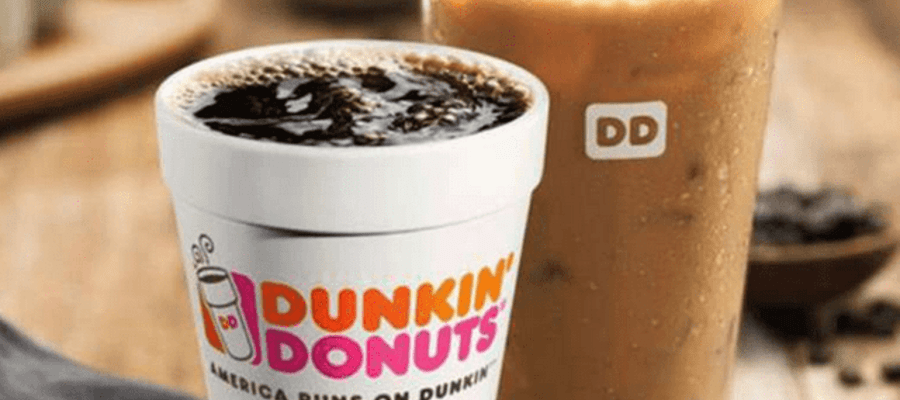Dunkin'$1 Medium Hot or Iced Coffee on 76ers Home Game Days