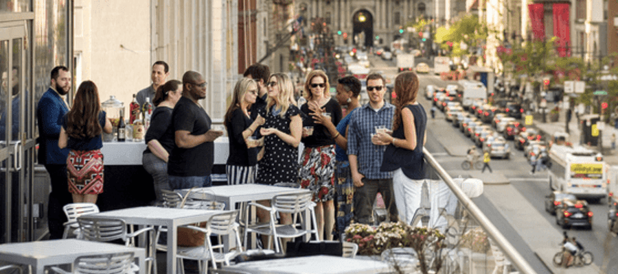 Center City District Sips Is Back for The Summer of 2018
