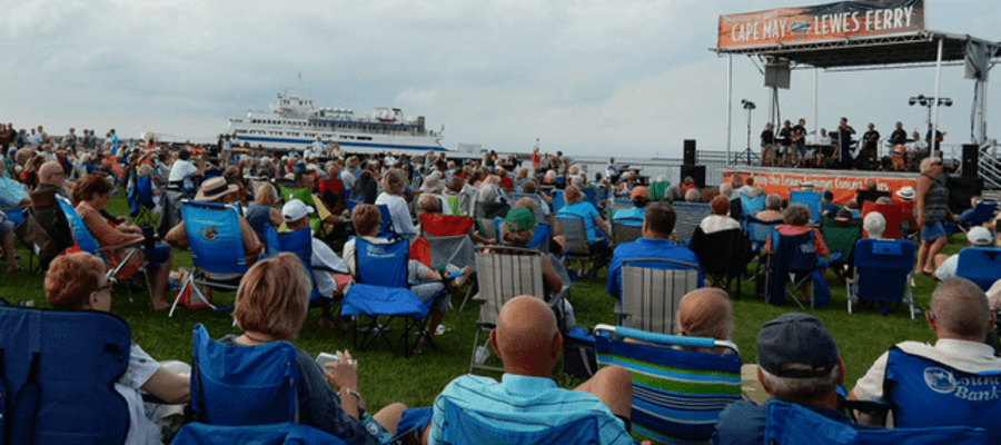 Free Community Concerts at the Lewes Ferry Terminal