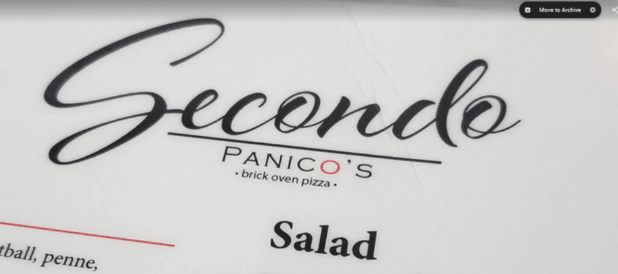 Secondo Italian Cuisine in Cape May