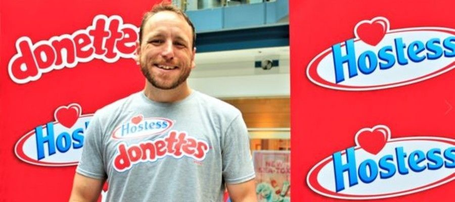 Joey Chestnut Wins Hostess Inaugural Donut-Eating Competition