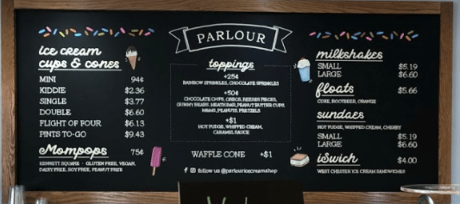 Parlour Ice Cream Opens in Ardmore