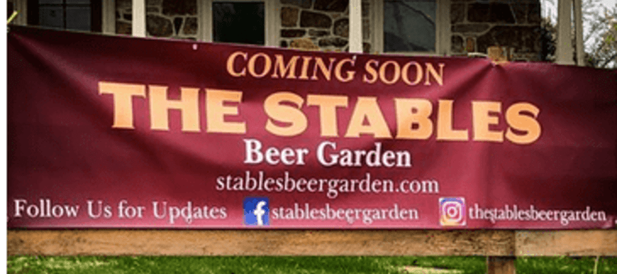 The Stables Beer Garden Comes to Chester Springs