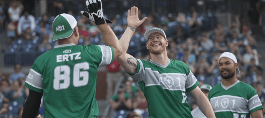 Inaugural Carson Wentz AO1 Foundation Charity Softball Game
