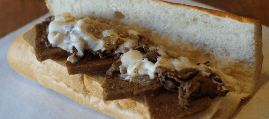 Joe's Steaks Scrapple Cheesesteak
