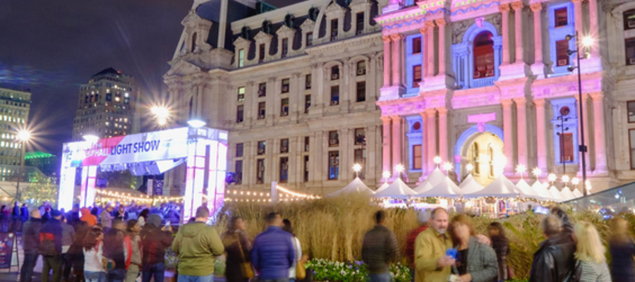 Holiday Light Show Coming to Dilworth Park