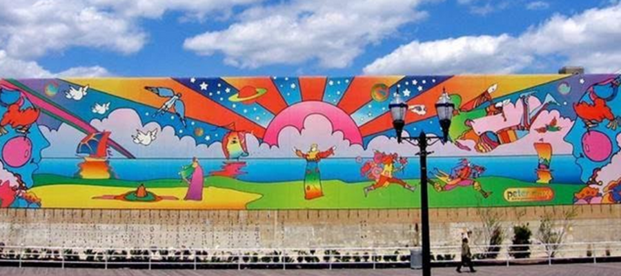 Peter Max Makes Rare Appearance at Hard Rock Hotel & Casino in Atlantic City
