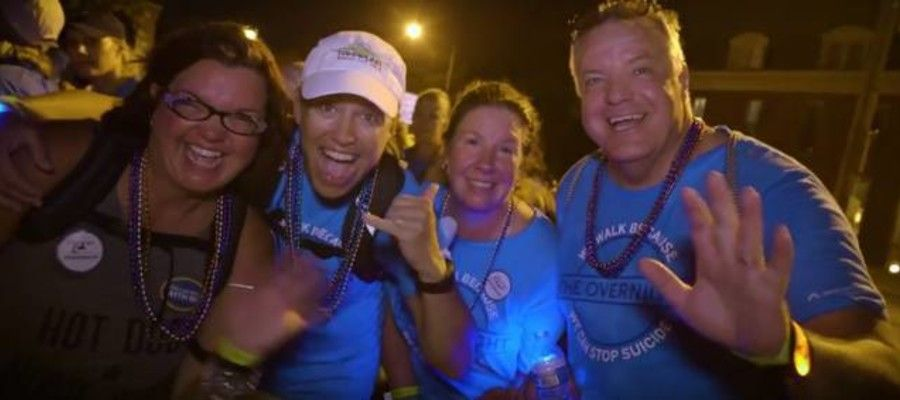 Philadelphia: Walk From Dusk Until Dawn to Fight Suicide