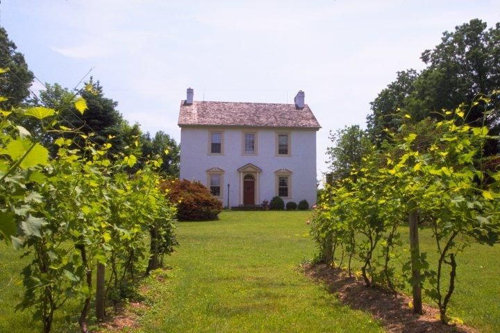 The charming Chaddsford Winery estate is located in a 200-year-old Colonial barn in Chester County